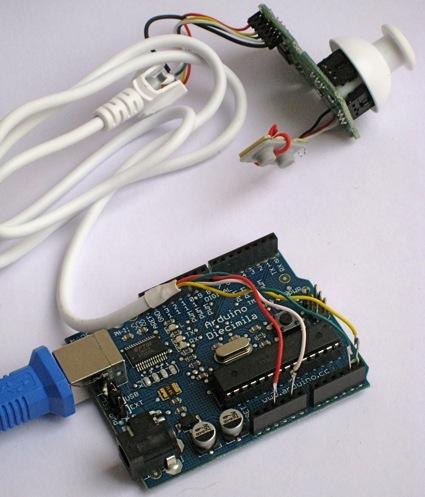 MMA7455 accelerometer sensor module Arduino